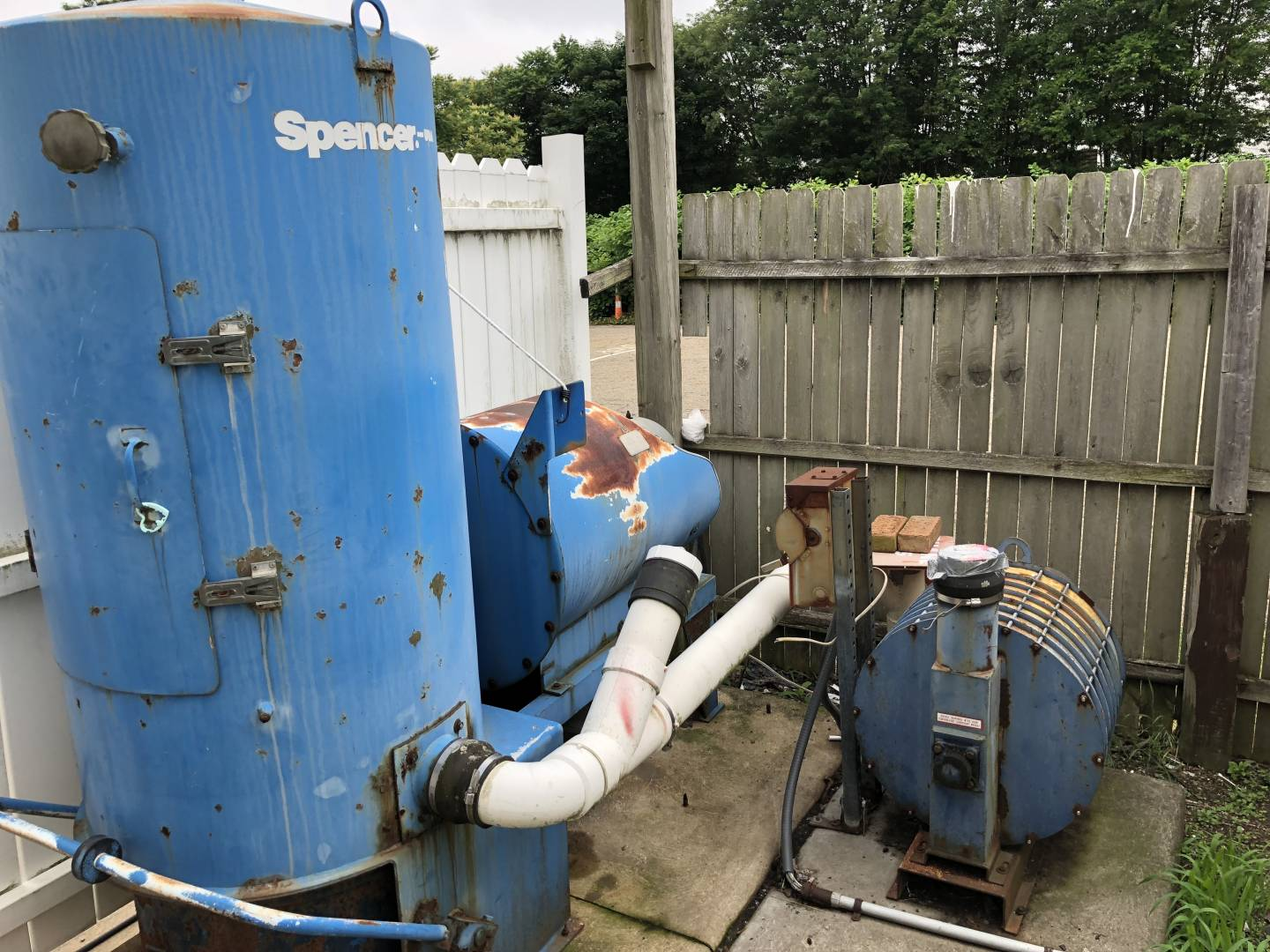 1303 Spencer 20 Hp 7 Operator System Central Vacuum