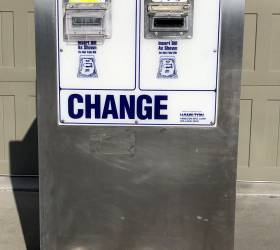 Self Service Bill Changers Used Bill Validators Self