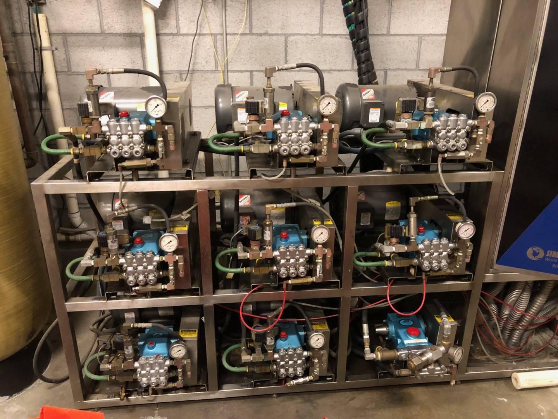 1612 Jim Coleman Cat Pump System Carwash Bay